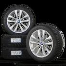 BMW 5 series F10 F11 6 series F12 F13 18 inch rim winter tyres winter wheels