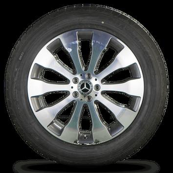 Mercedes Benz GLS X166 W166 SUV 20 Zoll Felgen Alufelgen Sommerreifen NEU – Bild 5