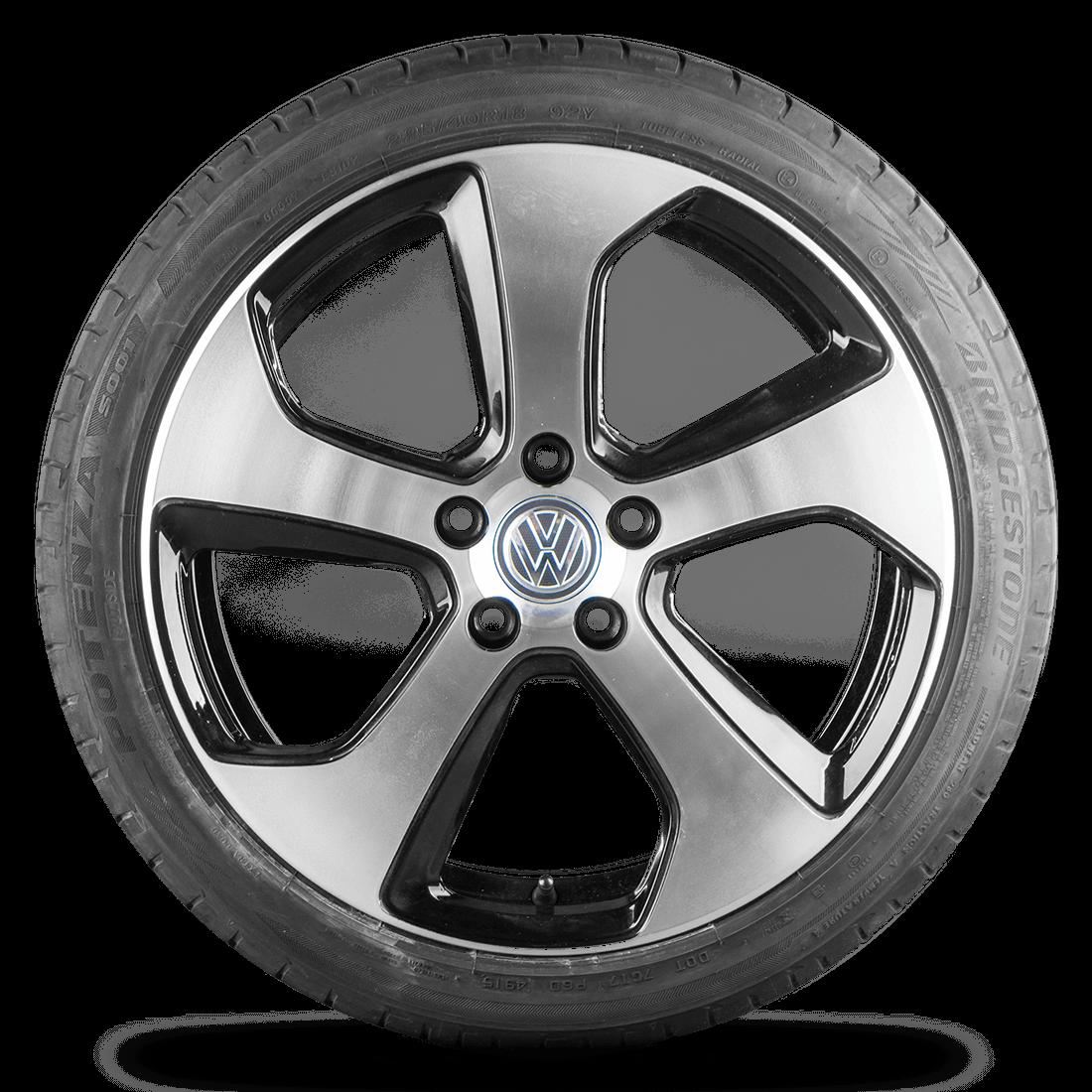 VW Golf 7 6 VII VI GTI 18 Zoll Felgen Alufelgen Austin Sommerreifen Sommerräder