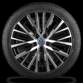 Original VW 18 Zoll Alufelgen Passat 3C CC Scirocco Lakeville Felgen Sommerräder – Bild 4