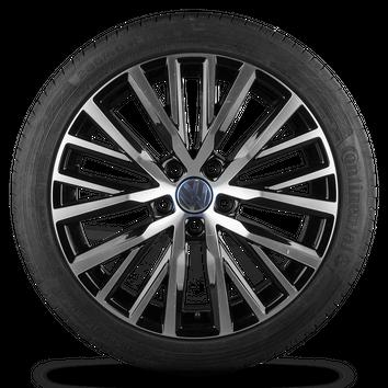 Original VW 18 Zoll Alufelgen Passat 3C CC Scirocco Lakeville Felgen Sommerräder – Bild 3