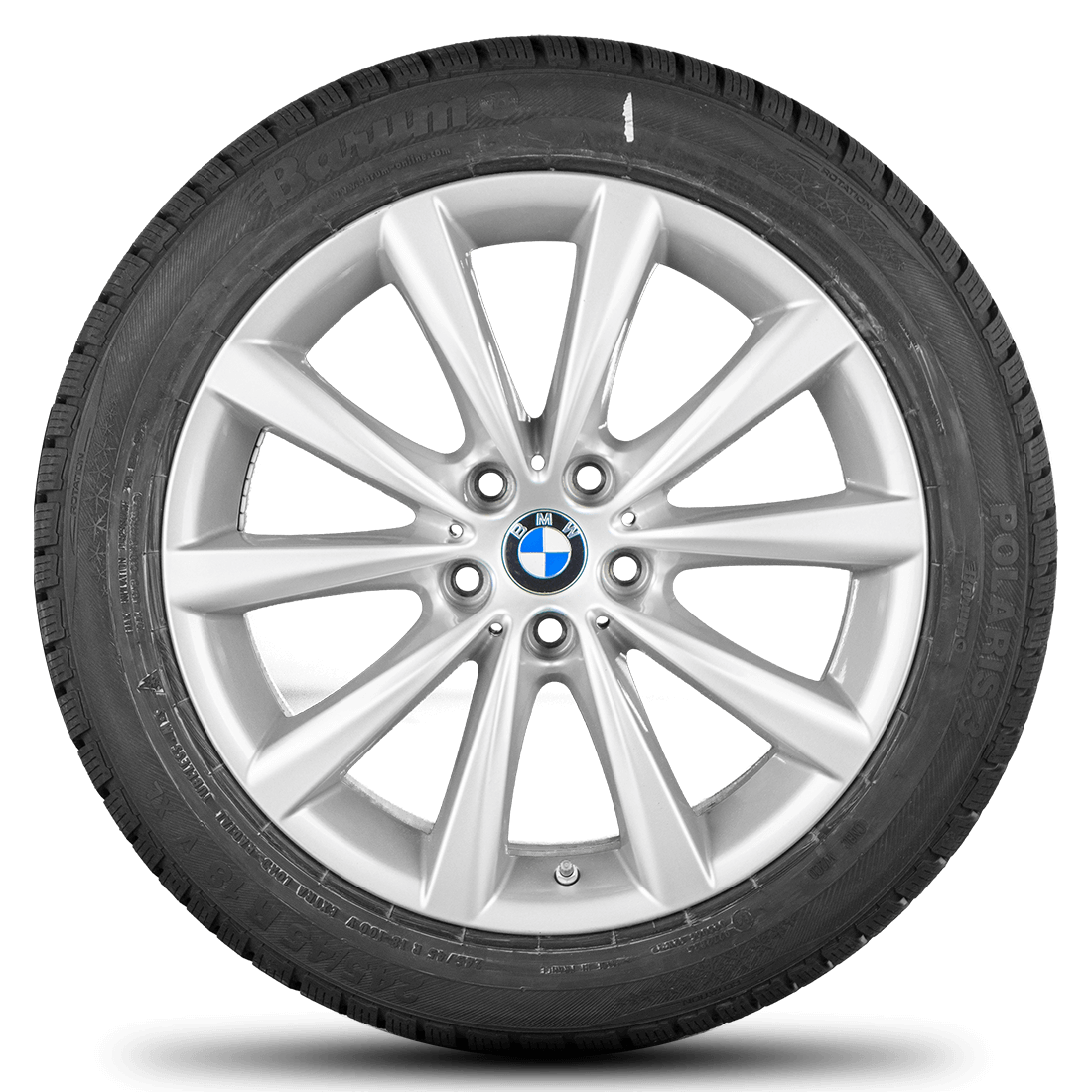 BMW 5er G30 G31 18 Zoll Alufelgen Felgen Winterreifen Winterräder Styling 642