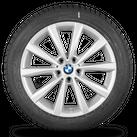 BMW 5 series G30 G31 18 inch alloy wheels rim winter tyres winter wheels