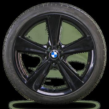 BMW 21 Zoll Felgen X6 E71 E72 Alufelgen Winterräder Styling 128 Winterreifen – Bild 2