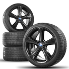 BMW 21 inch rims X6 E71 E72 aluminum rims winter wheels styling 128 winter tires