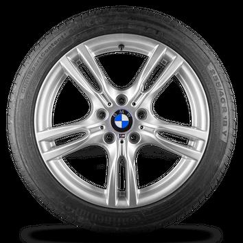 BMW 3er F30 F31 4er F32 F33 F36 18 Zoll Felgen Styling M400 M 400 Sommerreifen – Bild 2