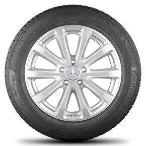 Mercedes 17 inch rimn E-class W213 alloy wheels winter tyres winter wheels