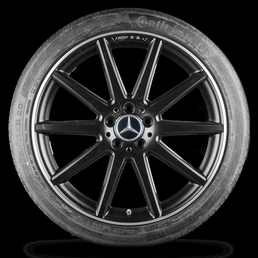 Mercedes-Benz GLA 45 Original AMG X156 20 Zoll Alufelgen Felgen Sommerräder