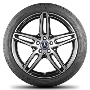 AMG Mercedes Benz E-class W213 S213 19 inch rimn alloy wheels summer tires 6 mm