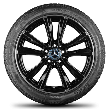 Mercedes 18 Zoll Felgen B-Klasse W246 A-Klasse W176 Winterreifen Winterräder – Bild 2