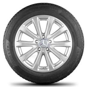 Mercedes Benz E-class W213 17 inch rimn alloy wheels winter tyres winter wheels