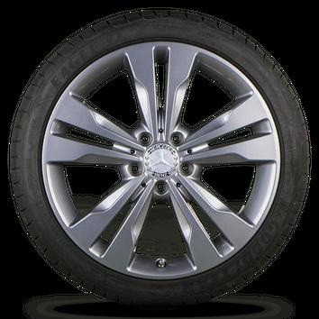 Mercedes A B CLA Klasse W176 W246 CLA C117 18 Zoll Sommerräder Sommerreifen 6 mm – Bild 5