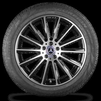 AMG 20 Zoll Alufelgen Felgen Mercedes-Benz GLC-Klasse X253 Sommerreifen 7 mm – Bild 2