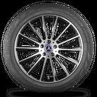 AMG 20 Zoll Alufelgen Felgen Mercedes-Benz GLC-Klasse X253 Sommerreifen 7 mm