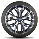 BMW X3 F25 X4 F26 20 inch alloy wheels rim summer tires 6864262 Styling 542