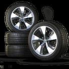 Audi 21 Inch Alloy Wheels Q7 4M Rims Summer Wheels Summer Tires New 4M0601025E