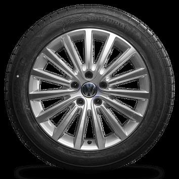 VW 18 Zoll Felgen Multivan T5 T6 Caravelle Canberra Sommerräder Sommerreifen Neu – Bild 3
