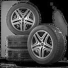 AMG Mercdes 20 Zoll Alufelgen G63 G65 W463 G-Klasse Felgen Sommerreifen NEU