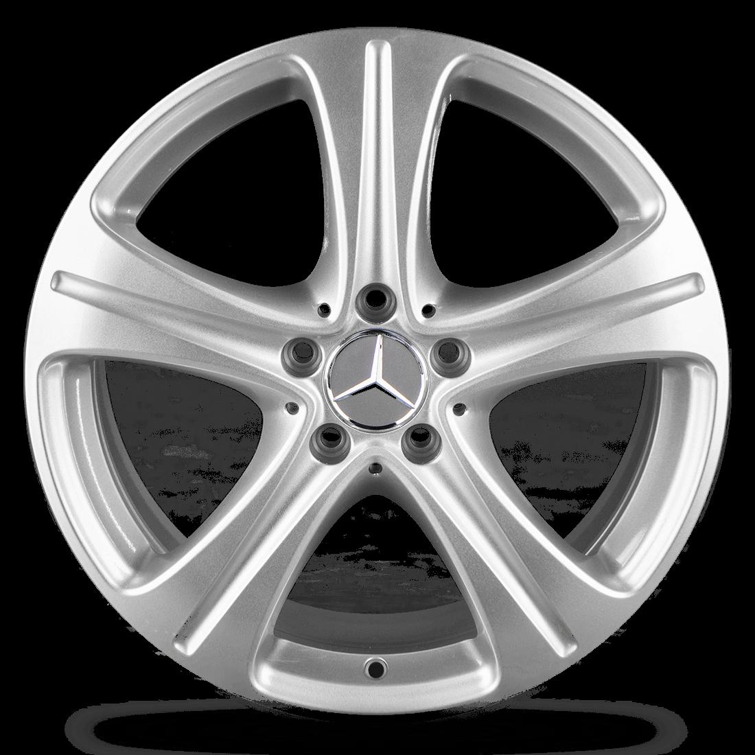 4x Mercedes Benz E-Klasse W213 S213 C238 18 Zoll Alufelgen Felgen A2134011400 NEU