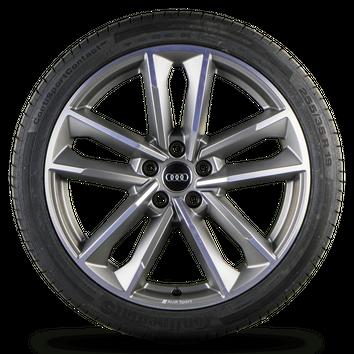 Audi A5 S5 B9 F5 8W 19 Zoll Alufelgen Felgen Sommerreifen S line Rotor Cavo NEU – Bild 2