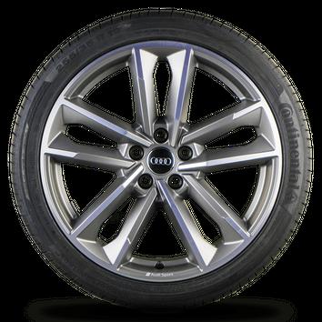Audi A5 S5 B9 F5 8W 19 Zoll Alufelgen Felgen Sommerreifen S line Rotor Cavo NEU – Bild 3
