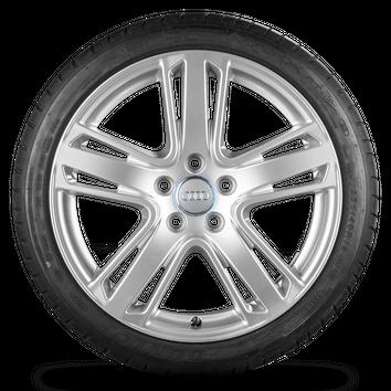 Audi A3 S3 8V 8P 18 Zoll Alufelgen Felgen Sommerreifen S line Trias Rotor – Bild 5