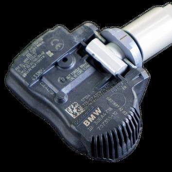 4x original BMW 5er G30 G31 RDK RDCi RDKS Sensoren Module inkl. Ventil NEU – Bild 3