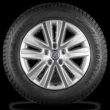 VW T5 T6 17 Zoll Alufelgen Felgen Sommerreifen Edition 30 Original Cascavel – Bild 2