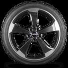 Audi RS3 8V Sportback 19 Zoll Alufelgen Rotor 2 Felgen Sommerreifen Sommerräder