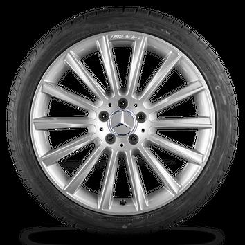 AMG 19 Zoll Mercedes Benz C-Klasse W205 S205 Alufelgen Felgen Sommerreifen NEU – Bild 4