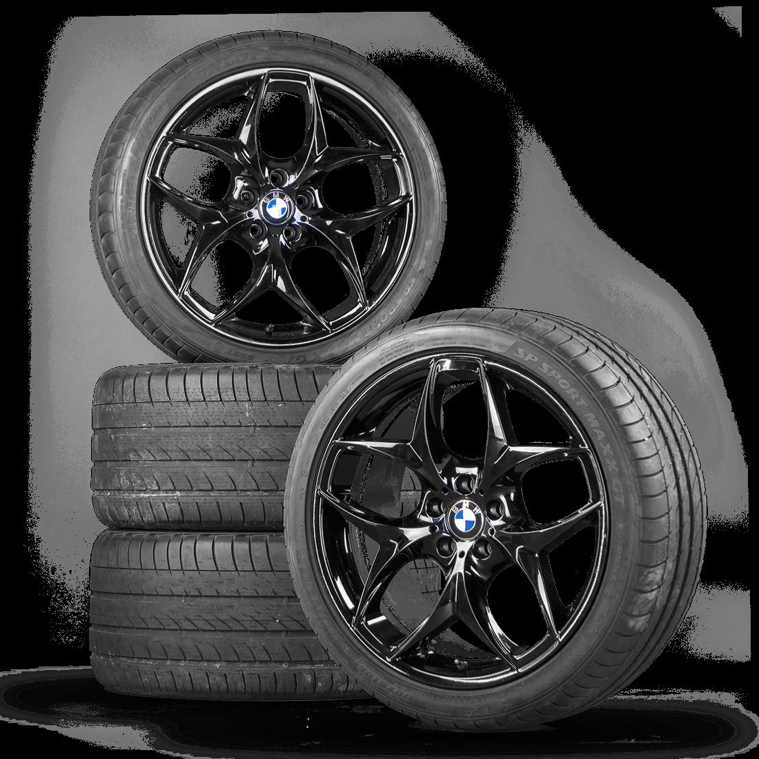 Bmw X6 X6m E71 21 Inch Rim Alloy Wheels Summer Tires Summer