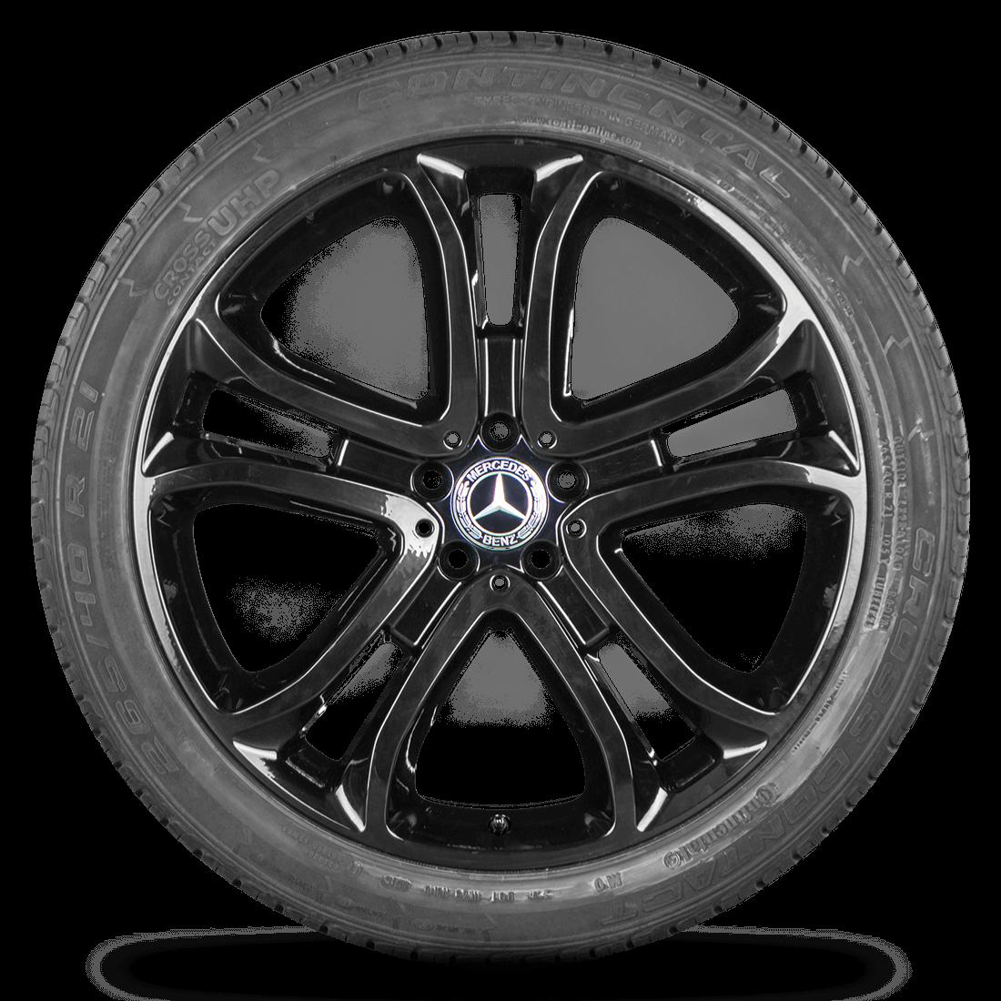 Mercedes Benz GLE SUV ML W166 21 Zoll Felgen Alufelgen Sommerreifen A1664012702