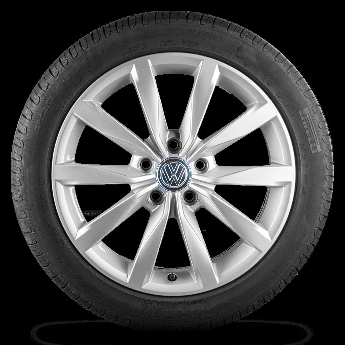 VW Golf 5 6 7 VI VII 5G Felgen Alufelgen Sommerreifen 5G0601025BH R line Dijon