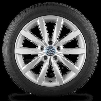 VW Golf 5 6 7 VI VII 5G Felgen Alufelgen Sommerreifen 5G0601025BH R line Dijon – Bild 4