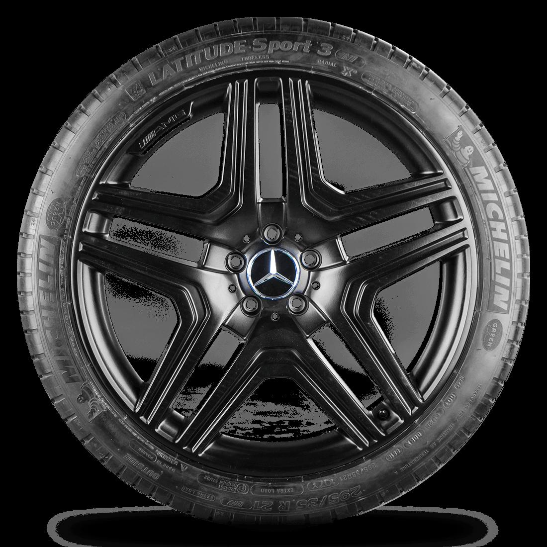 AMG Mercedes Benz M ML W164 21 Zoll Alufelgen Felgen Sommerreifen Styling IV