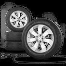 Mercedes GLE W166 18 Zoll Alufelgen Felgen Winterreifen Winterräder A1664011602