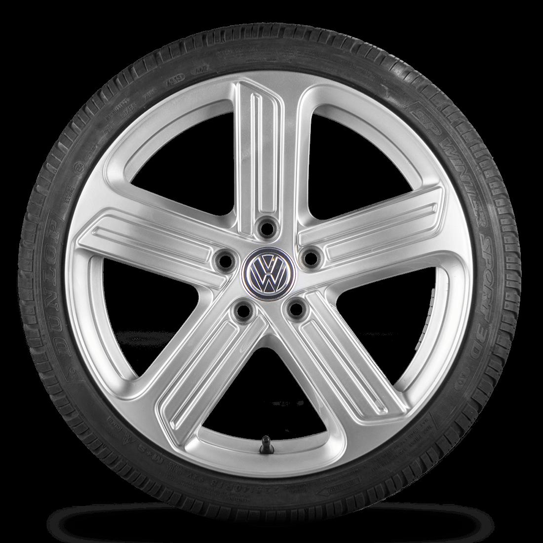 VW 18 Zoll Felgen Golf 7 6 GTI GTD Cadiz Alufelgen Winterreifen Winterräder