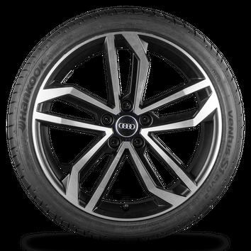 Audi A4 S4 B9 8W 19 Zoll Alufelgen Felgen Sommerreifen S line Sidus Rotor NEU – Bild 2