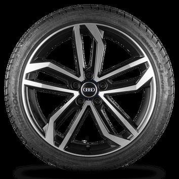 Audi A4 S4 B9 8W 19 Zoll Alufelgen Felgen Sommerreifen S line Sidus Rotor NEU – Bild 3