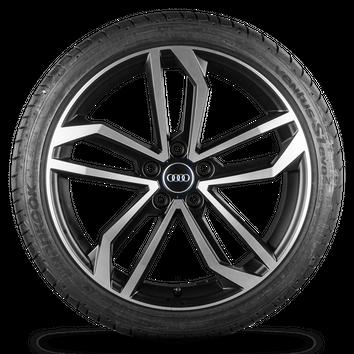Audi A4 S4 B9 8W 19 Zoll Alufelgen Felgen Sommerreifen S line Sidus Rotor NEU – Bild 5