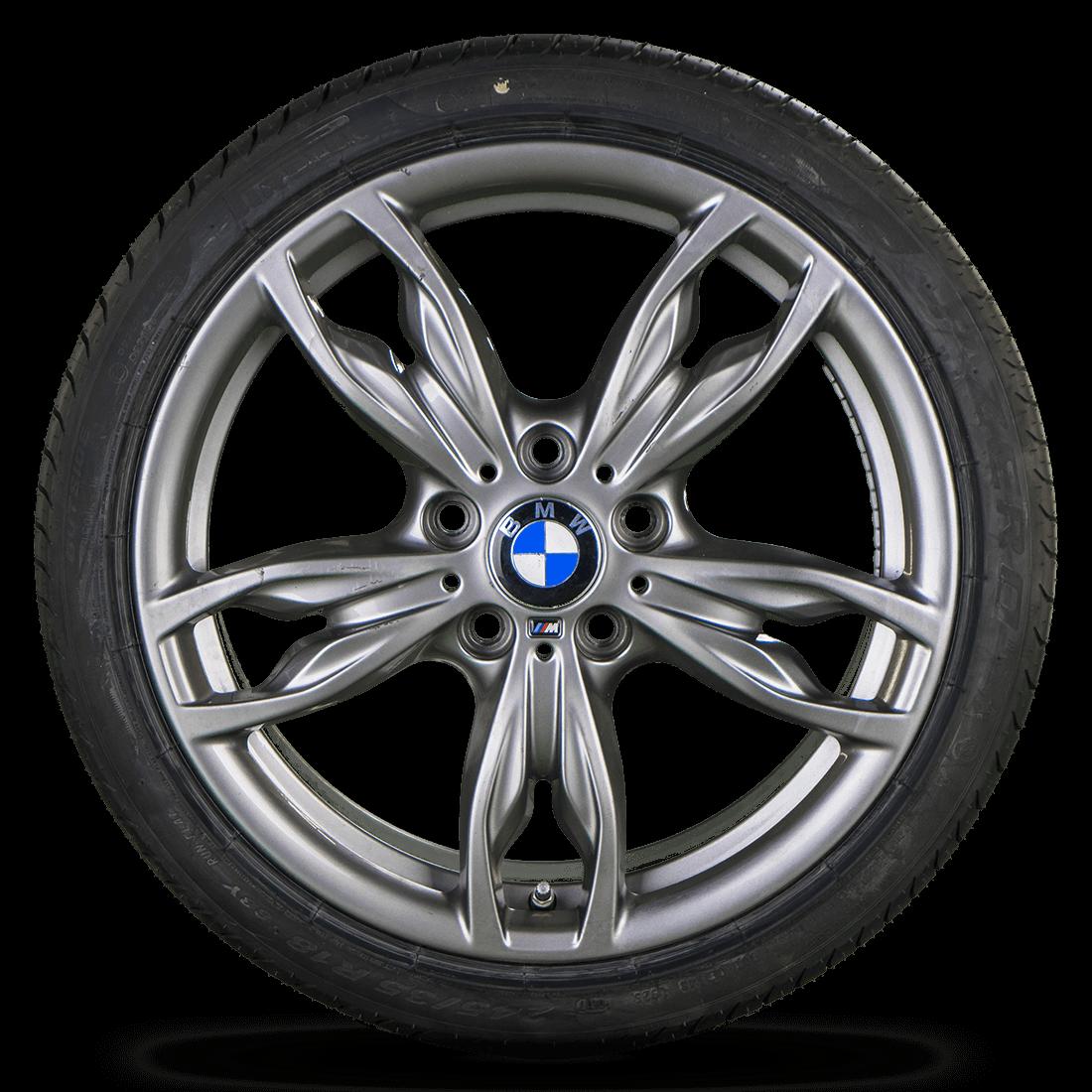 BMW 1er F20 F21 2er F22 F23 18 Zoll Alufelgen Felgen Sommerreifen Styling M436