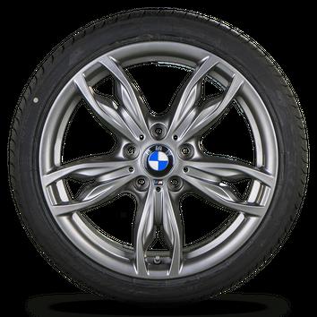 BMW 1er F20 F21 2er F22 F23 18 Zoll Alufelgen Felgen Sommerreifen Styling M436 – Bild 3