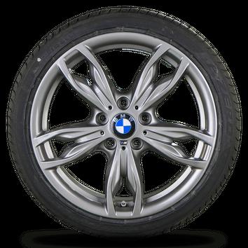 BMW 1er F20 F21 2er F22 F23 18 Zoll Alufelgen Felgen Sommerreifen Styling M436 – Bild 5