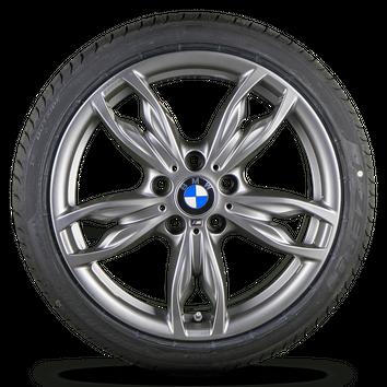 BMW 1er F20 F21 2er F22 F23 18 Zoll Alufelgen Felgen Sommerreifen M436 NEU – Bild 2