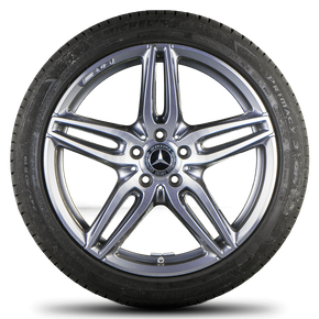 AMG Mercedes E-class W213 S213 W238 19 inch rim alloy wheels summer tires