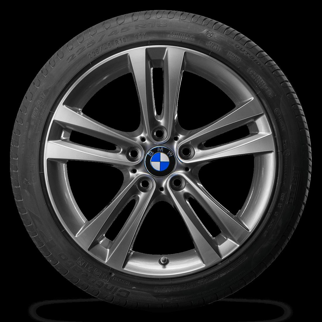 18 Zoll BMW 3er F30 F31 4er F32 F33 F36 Alufelgen RDK Sommerreifen Felgen 397
