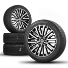 VW T5 T6 Bus Multivan 18 Zoll Alufelgen Felgen Sommerreifen R line Palmerston