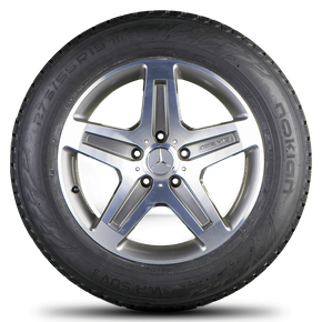 AMG Mercedes Benz G-class W463 G55 19 inch rim alloy wheels winter tyres
