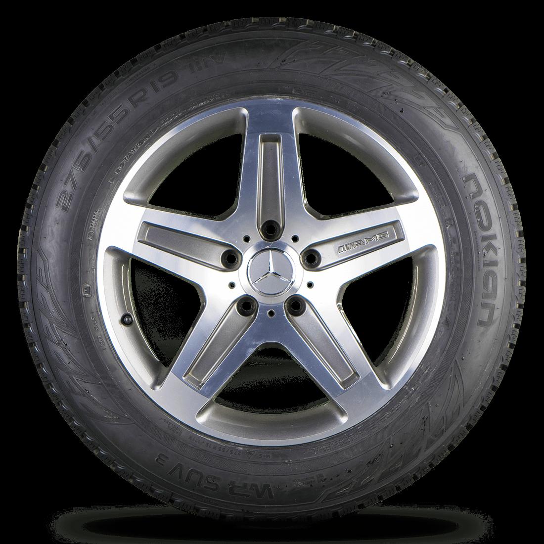 AMG Mercedes Benz G-Klasse W463 G55 19 Zoll Felgen Alufelgen Winterreifen
