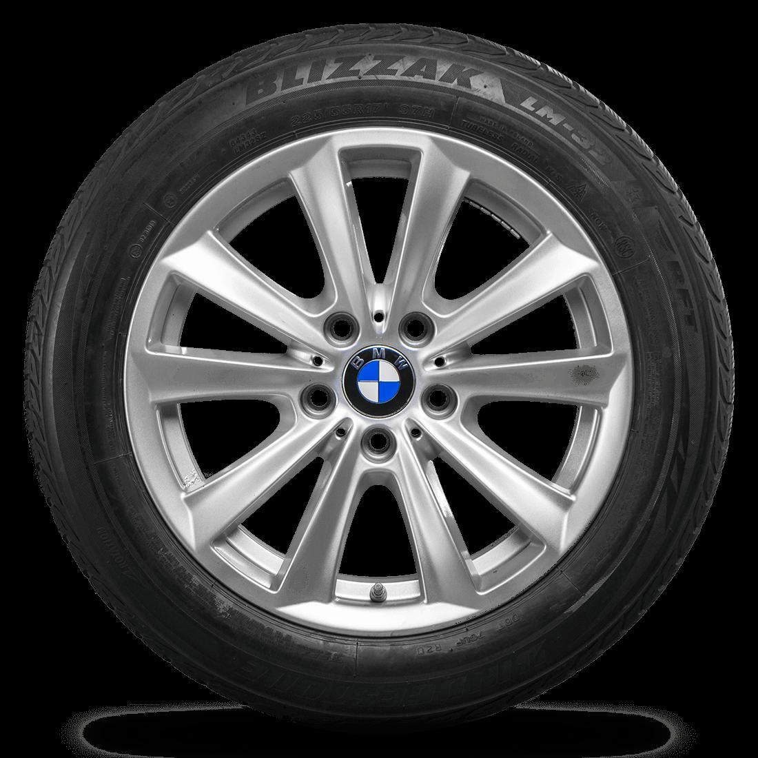 BMW 5er F10 F11 6er F12 F13 17 Zoll Winterräder Winterreifen Felgen Styling 236